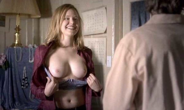 Topless alison pill
