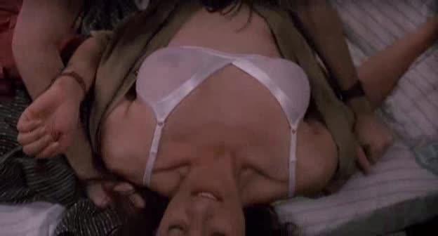 Hot brunette hentai
